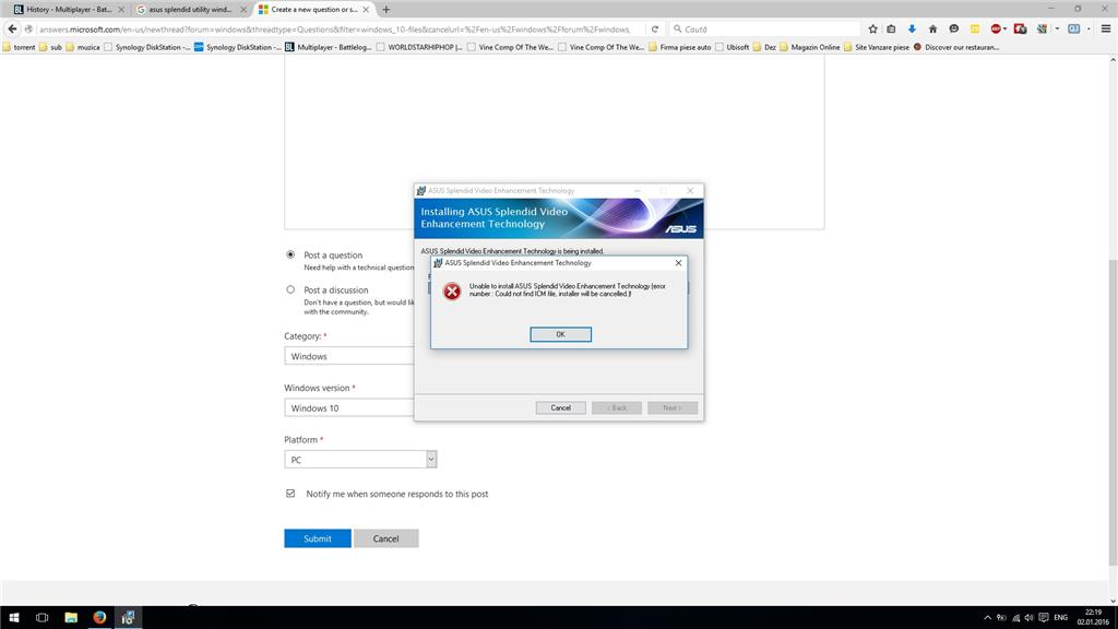 Can't install Asus splendid on windows 10 c8bb69bf-2af7-41b0-9125-88c96a27cf59.jpg