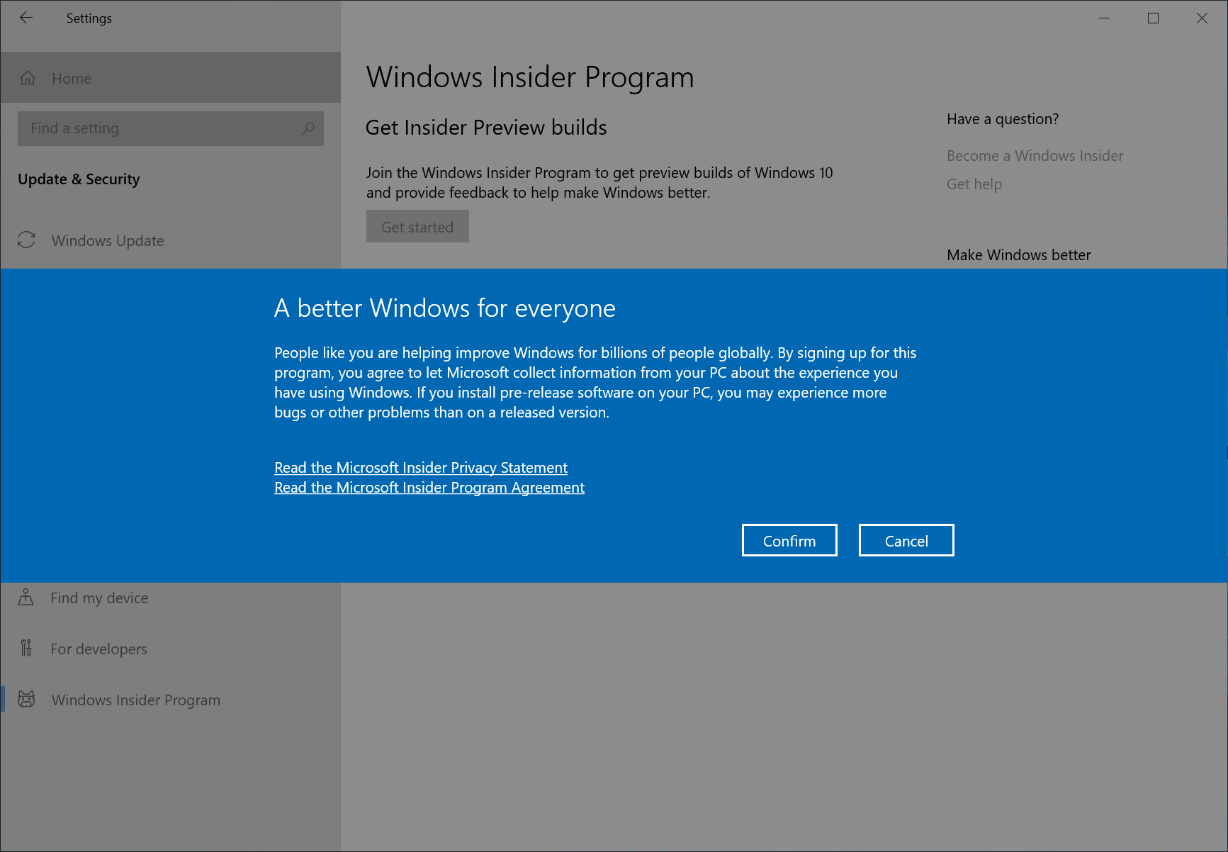 Getting the November 2019 Update Ready for Release  Insider c9d9b8d19c827f9461fd8d30def7455f.png