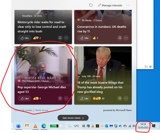 Is the 'News and Weather' function using the Internet Explorer engine for news? About 6... c9ljispf1wy61.png