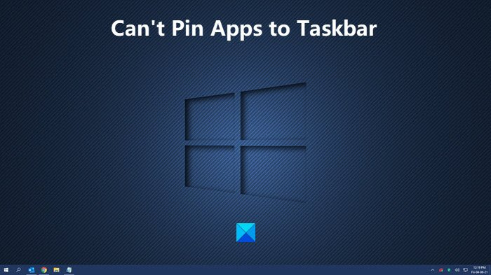 Fix: Can't Pin Apps to Taskbar in Windows 10 Cant-Pin-Apps-to-Taskbar-in-Windows-10.jpg