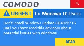Windows 10 version 1809 with an Ahnlab V3 security software installed may remain on a black... capture-jpg.jpg