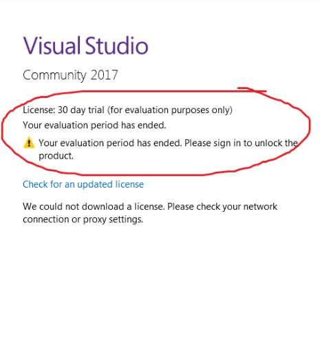 Visual studio community is free , open source or paid software cb7602c7-6db0-4b1b-837c-f89920bdfa13?upload=true.jpg