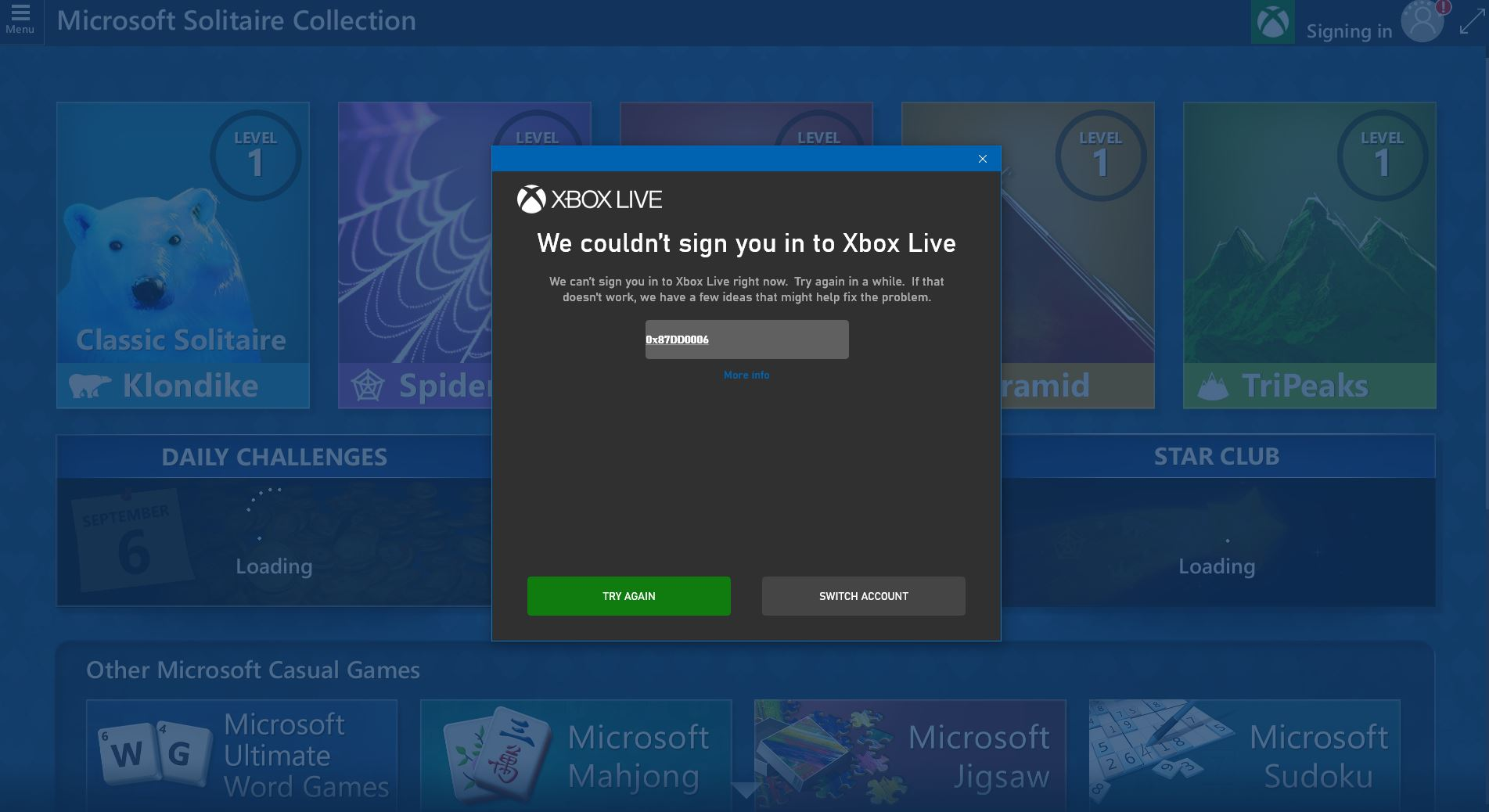 Problem with Microsoft Solitare Collection. cbe66214-d082-43f4-9bc4-445ea723f81b?upload=true.jpg