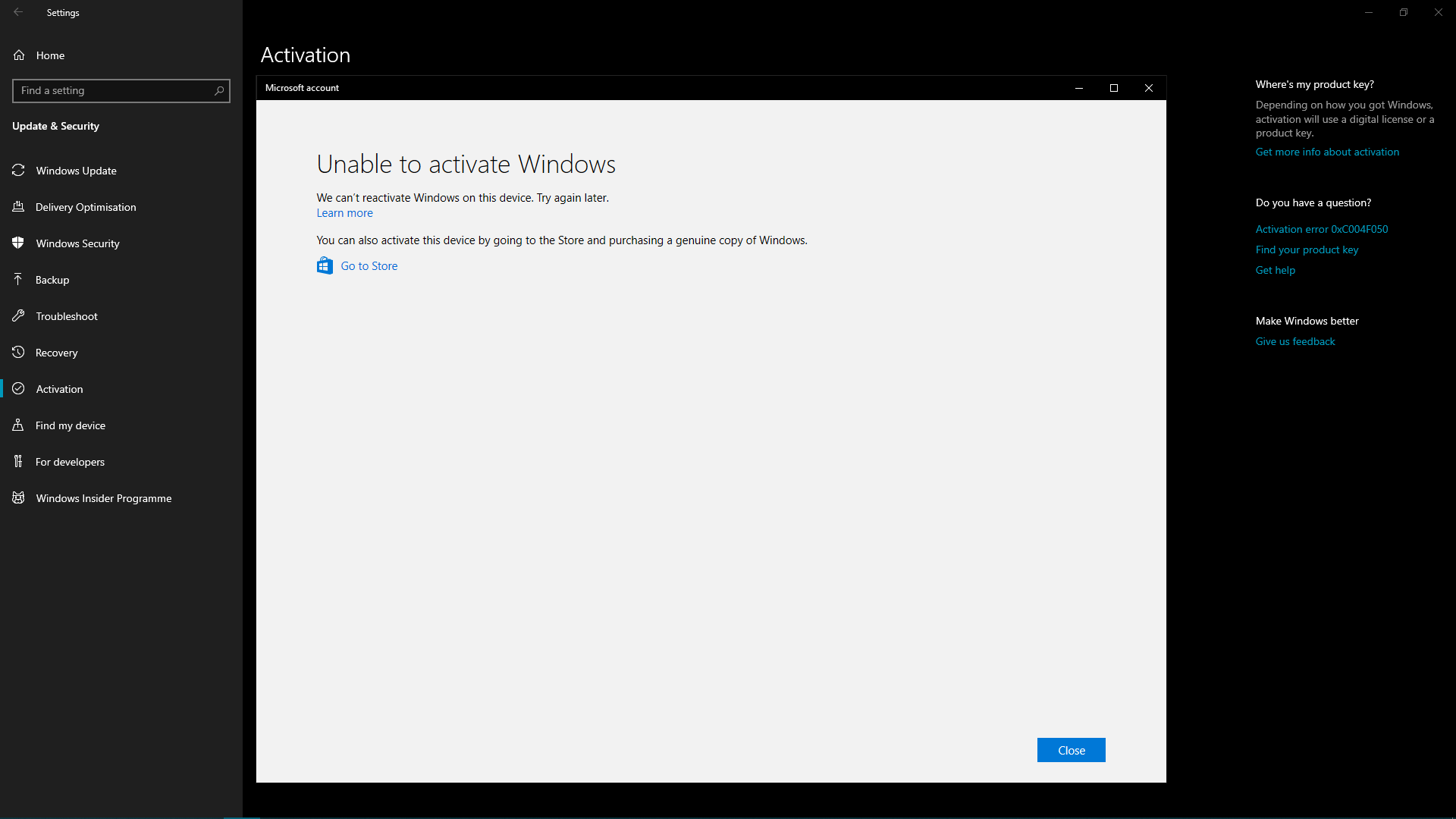 Can't re-activate Windows after Hardware change cbf1340a-a938-4629-b7be-401e4f4eeb96?upload=true.png