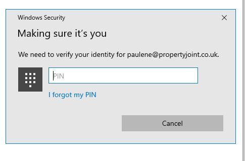 Cannot open onedrive files as now requesting Windows Hello PIN - and I have never created one cc4ff6ae-12f4-4a84-8167-005eed33890f?upload=true.jpg