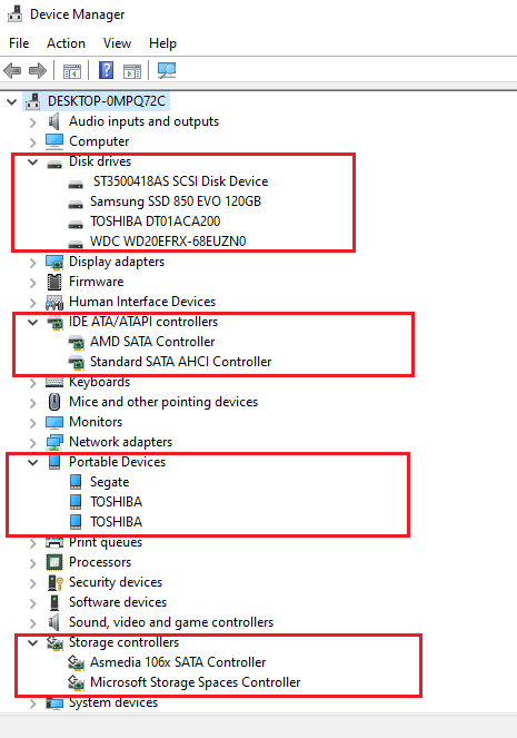 After upgrade to 1903. The HDDs detected as Portable Devices in taskbar cf5e53a5-a850-4459-9f3e-9829c40fd4c5?upload=true.png
