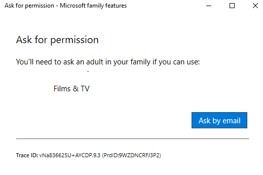 I am getting microsoft family restrictions and im not in a family cfc5943b-7803-40b9-ae8f-6e69272454ed?upload=true.png
