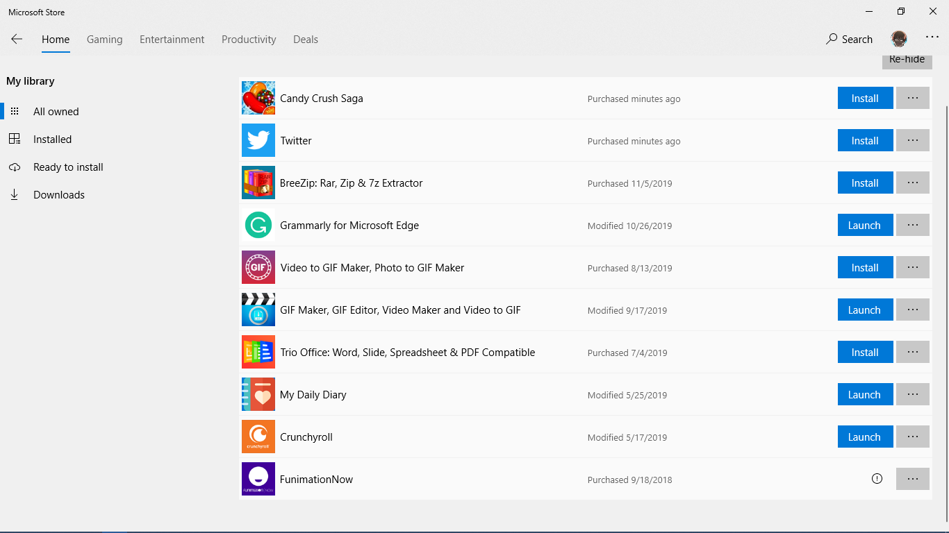 How to dis own any app from app store? cfcdb9ea-9775-4a47-b2fc-6194e9ba9eea?upload=true.png