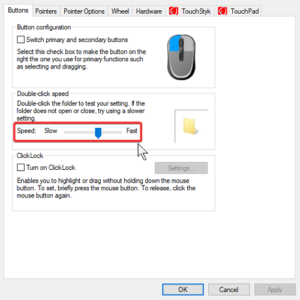 How to change Mouse Settings in Windows 10 change-doubleclick-speed-300x300.png