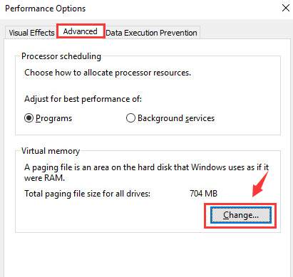 Windows Stop Code error: Page fault in non page area. LLIO SYSTEM change-option-under-virtual-memory.jpg