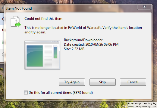Error code 0x80070022 in Windows 10: Copies some files but not others copy%20error.png