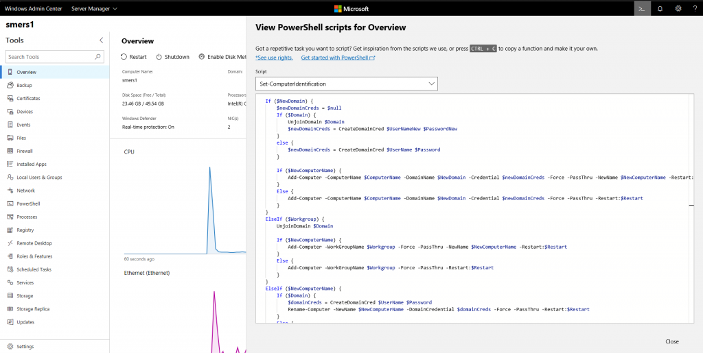 Announcing Windows Admin Center 1809.5 Insider Preview Core-functionality-1024x515.png