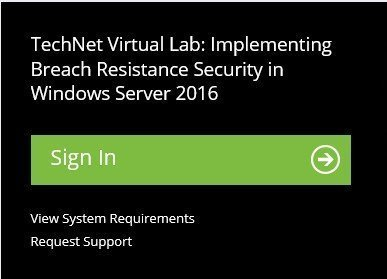 Free Windows Server 2016 virtual labs - no hardware required cred-2.jpg