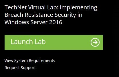 Free Windows Server 2016 virtual labs - no hardware required cred-3.jpg