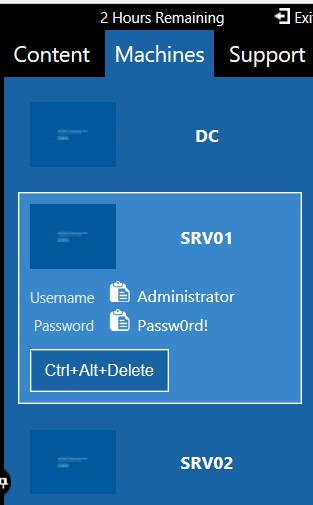 the vmware problem in credential cred-4.jpg