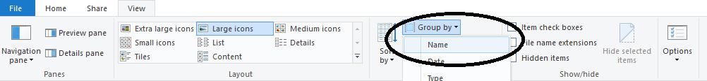 Very strange folder behavior. File sorting problem d1b579c8-659a-4dff-8380-20a72d125af9.png