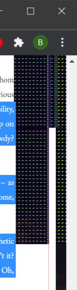 Black boxes with colored dots appearing on screen d3348507-f243-46b1-ba52-23de1ef97b5c?upload=true.png