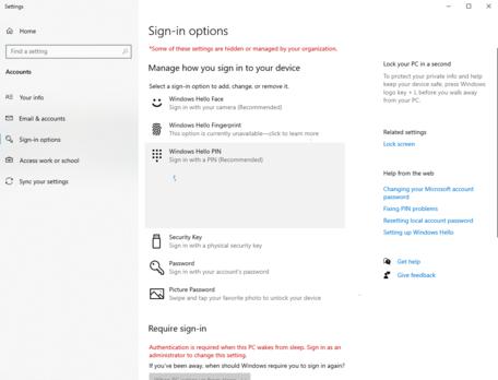 Windows Hello PIN - I forgot my PIN: Just keeps looping doesn't let me change. d58ecdc0-970c-4626-a777-38e05de8d0f9?upload=true.png
