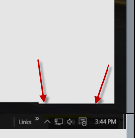 Win 10 Notification area missing arrow for hidden icons d767a48d-2a98-46b8-a4c4-16a26a140af8.png
