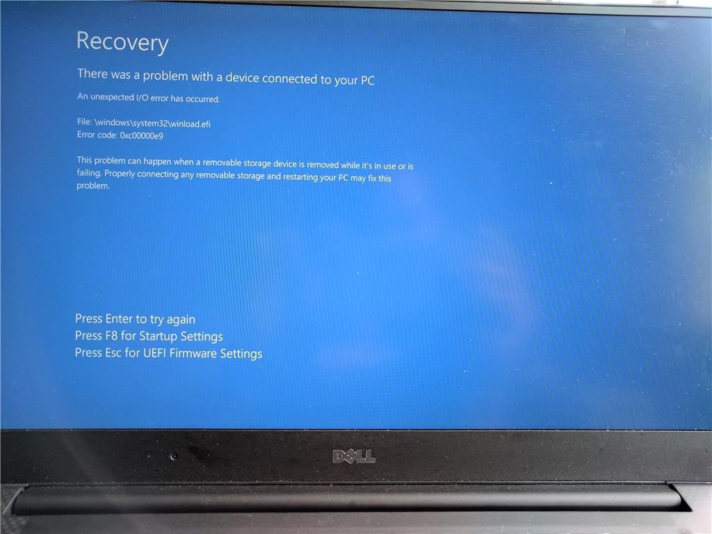 Multiple daily BSODs on a Dell XPS 9560 for more than 2 months