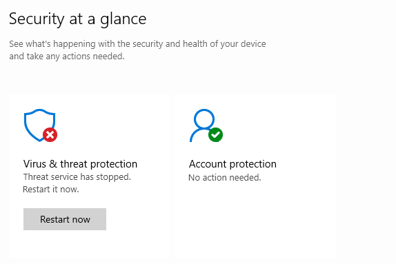 Security Intelligence Update for Windows Defender Antivirus - KB2267602 Version 1.309.970.0... d90a23db-e41a-4f51-bd57-a373d0cb4e26?upload=true.png
