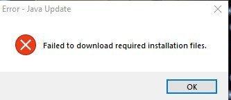 "RE JAVA UPDATES ""Faild to download required installation files"" d910cf76-f01e-4ff4-ae04-7b11497877d7?upload=true.jpg"