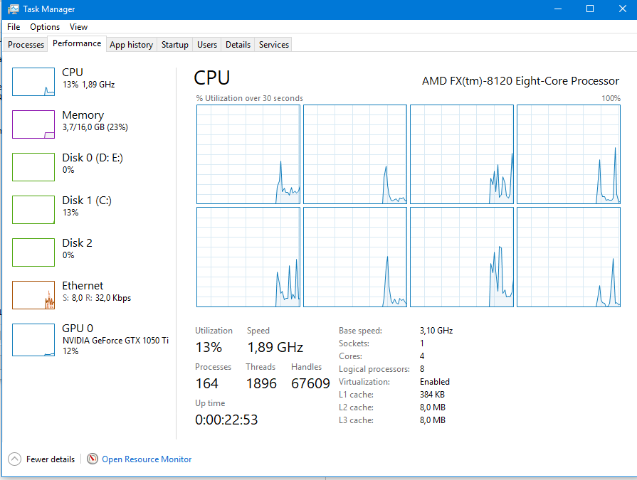 Windows locks cpu speed to lowest after switching from linux or grub. d9d33dbf-3acd-4946-95a8-edb952816d31?upload=true.png