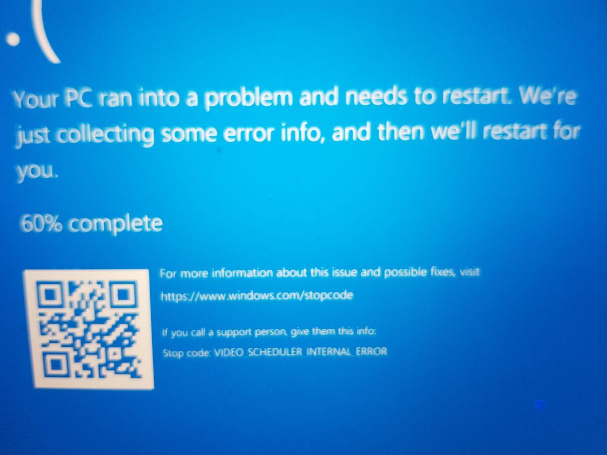 """Stopcode error message """"Video Scheduler Internal Error"""" d9d8857b-15f8-4549-a64f-63581f4747e9?upload=true.jpg"""