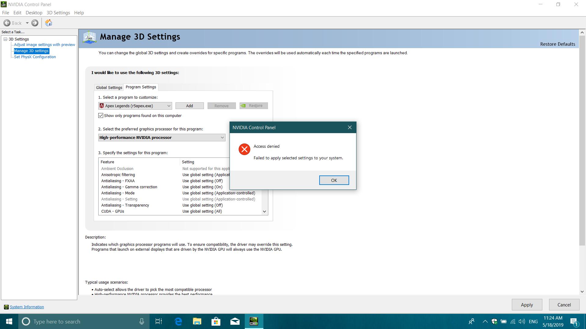 Can't change my default GPU to Dedicated GPU dad875b4-8a61-47d3-b8cd-b7a258ac4341?upload=true.png
