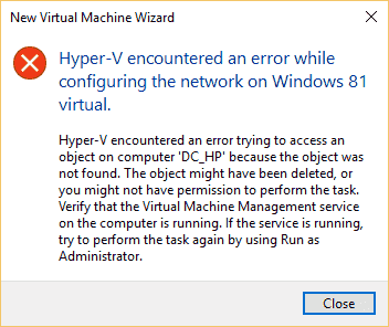 Cannot connect to network in Hyper-V when using default network db62a860-fe11-4d9f-8e70-b530946c0ee3.png