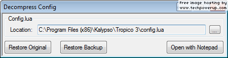 How to Decompress Windows Files decompress_config.png