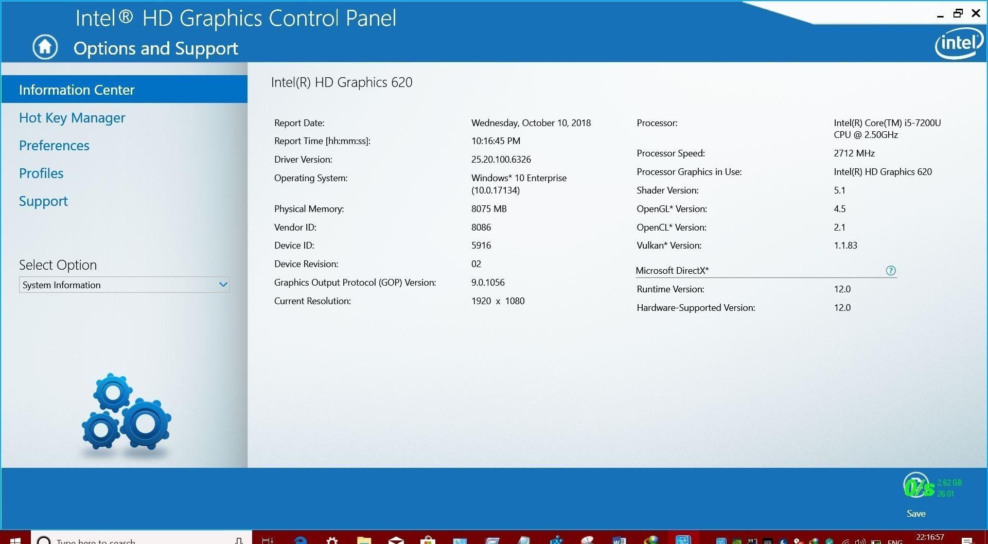 intel uhd graphics 630 driver 32 bit