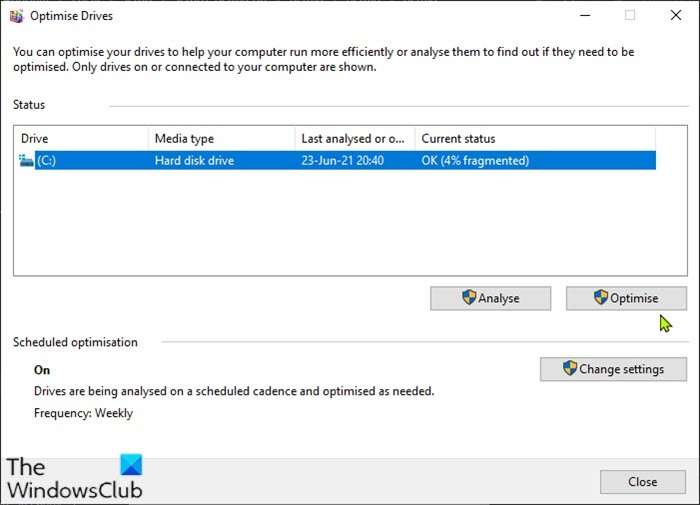 How to defragment Hard Drive using Batch file in Windows 11/10 Defragment-Hard-Drive-using-Batch-file.jpg
