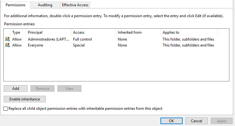 How do I restore Temp folder permissions dfeccef9-00e2-477b-a5df-7137e683abd9?upload=true.png