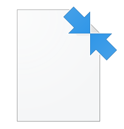 What are these 2 small blue arrow overlays which appear on desktop icons? dI8st.png