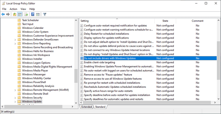 New Windows 10 Manual Driver Updates process starts on November 5, 2020 disable-driver-installations-windows-updates.png
