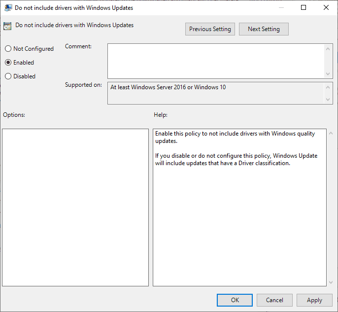 New Windows 10 Manual Driver Updates process starts on November 5, 2020 do-not-include-drivers-with-Windows-Updates.png