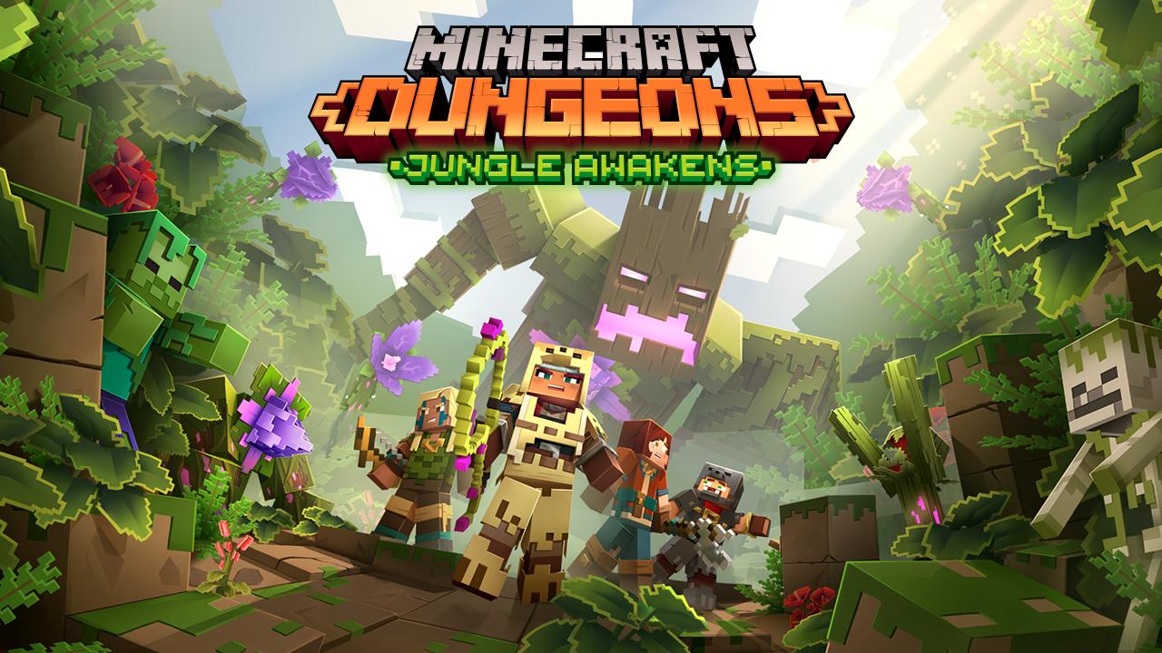 Reinstall Minecraft Dungeons dungeons-dlc-announcement-jungleawakens-keyart.jpg