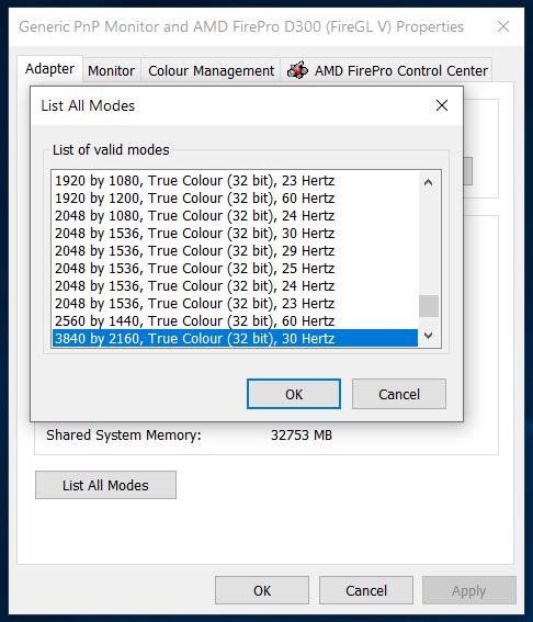 Windows 10 defaults to 8-bit color depth automatically. e0c64ea3-4216-4d26-aa1d-18ef94e2dfb8?upload=true.png