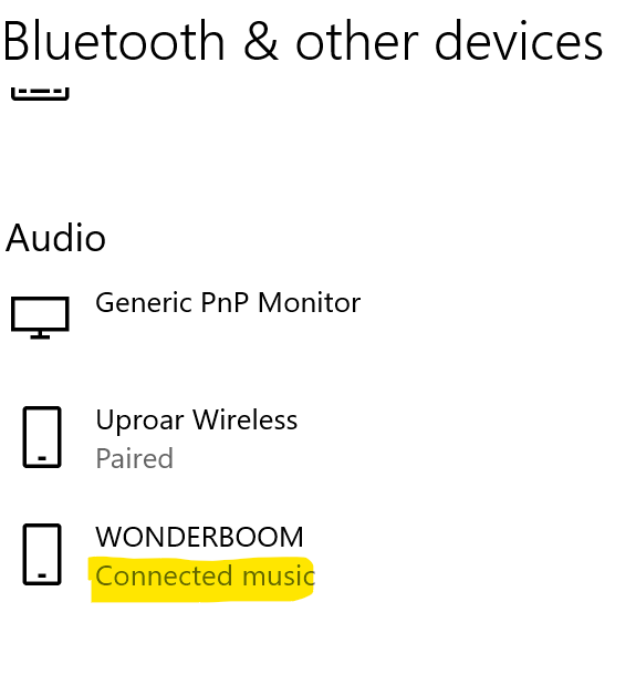 """Bluetooth Speaker """"Connected music"""", Will no longer Pause Video with Windows 10 e198a7ef-6ec5-4a37-a548-44625ee015bc?upload=true.png"""