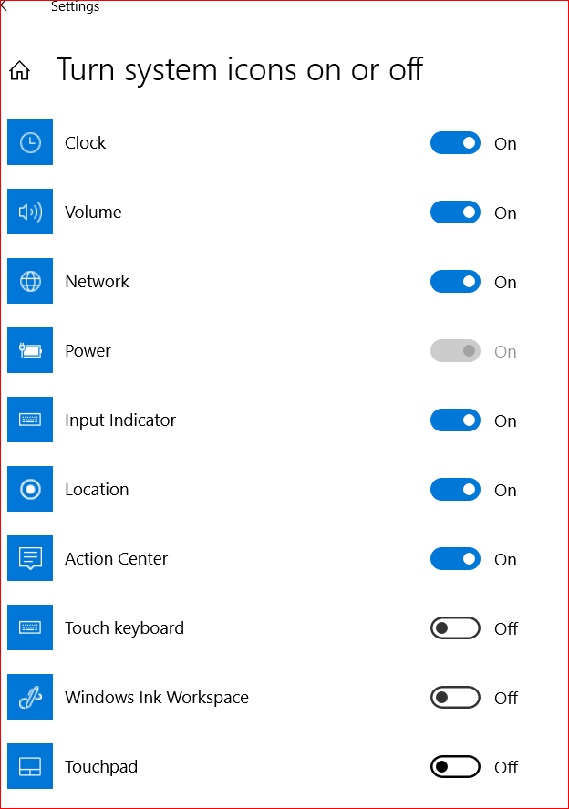 Battery icon is not showing? e2280682-9ebe-402d-8364-490338e3918c?upload=true.png