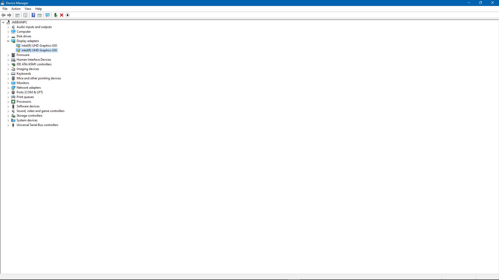 IntelR UHD Graphics 630 Error code: 52 e26d0ac3-9698-4a0e-8093-6f4c8ff99fad?upload=true.png