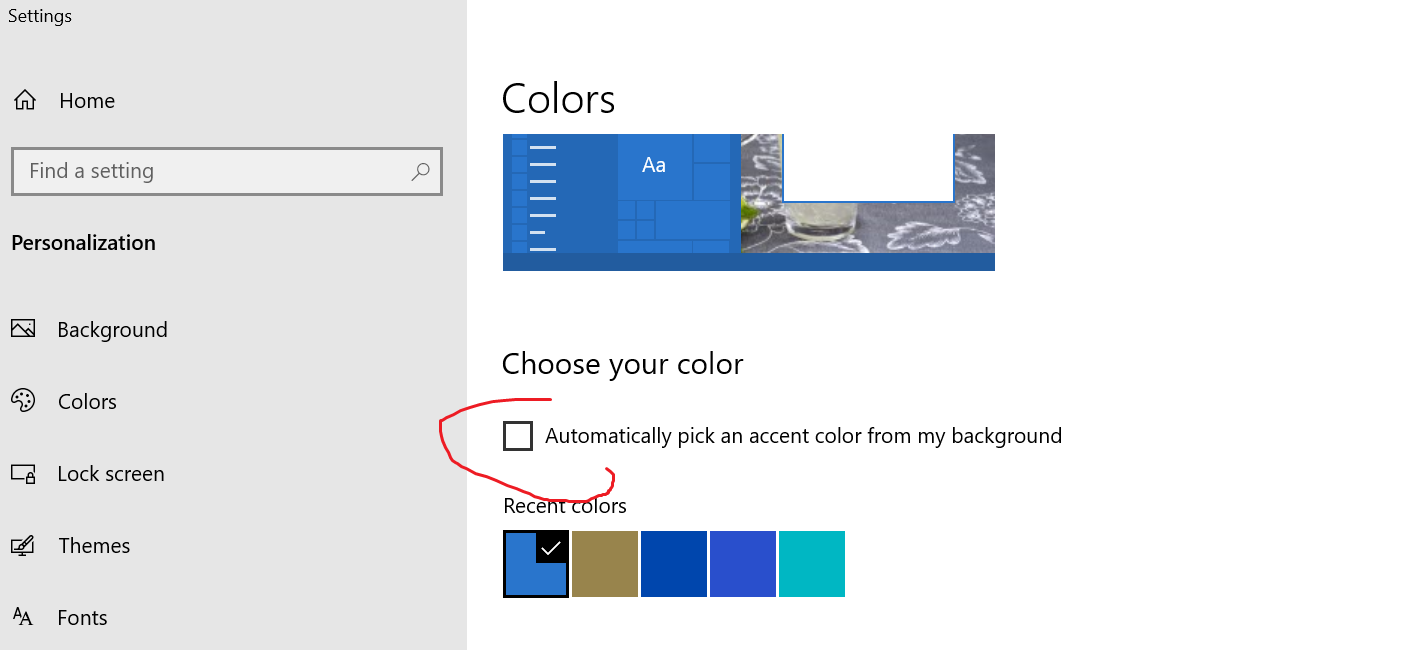 can't prevent theme from changing taskbar color e3c45943-157e-4674-9da5-e3f34049f57b?upload=true.png