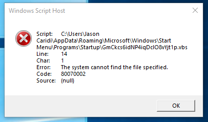 Windows Script Host error code 80070002 on startup. My system can't find some weird file. e40dee96-f2ac-43c2-a71c-81839ad7f56d?upload=true.png