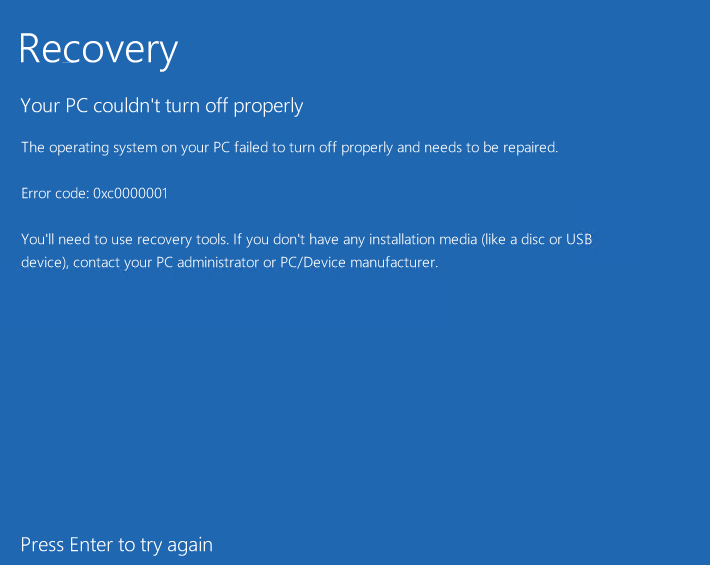 """Virtual machines takes longer time at """"restarting"""" and upon startup stuck at """"Windows Recovery"""" e4e07e31-6c56-4d11-ac12-72357b862b9c?upload=true.png"""