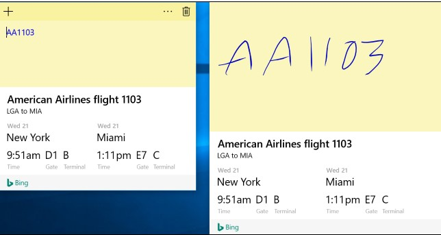 Sticky note don't search the fly number america airline e541a560-ef1b-4673-8ac8-07a633bbb24f?upload=true.jpg