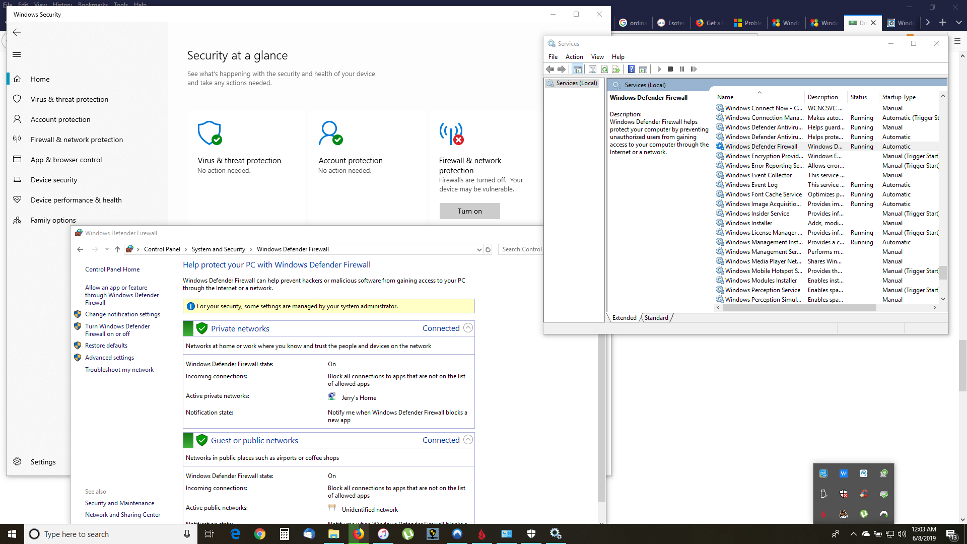 Windows Defender Firewall showing On and Off at the same time e680c526-7767-4e67-8ca4-77e0716cc60d?upload=true.png