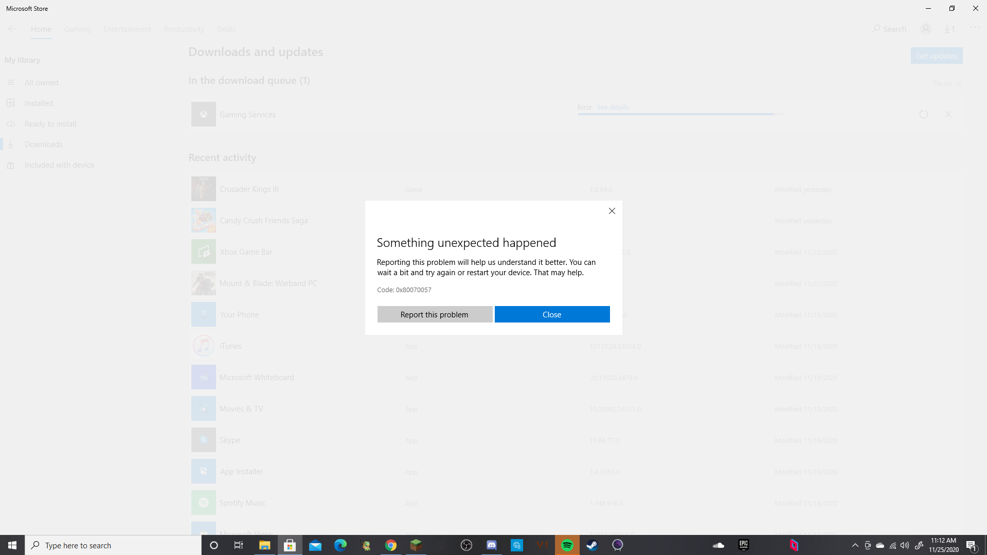 Gaming services won't download/update. e6a8af18-ffe3-4482-87fe-fec361bca290?upload=true.png