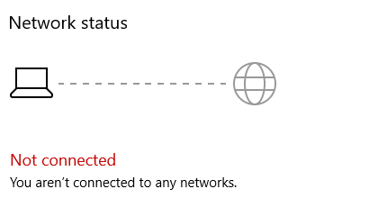 I can browse the Internet but it says i'm not connected. e6ba04d2-d96c-4c83-b23d-2b842a71281b?upload=true.png