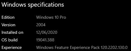 Windows 10 Settings won't show the information bar. e74db346-00eb-4b3e-9db0-33a9045436ed?upload=true.png